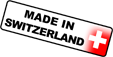 Dieses Produkt ist 'Made in Switzerland'