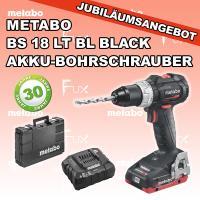 BS 18 LT BL Akku-Bohrschrauber Black