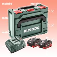 Metabo Basis-Set 5.5 Ah LiHD 2x Akkupack